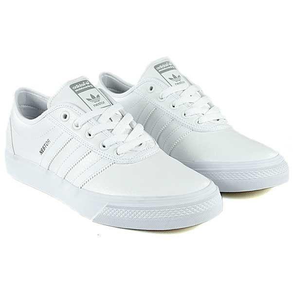 62fdaf5253d ... coupon code adidas skateboarding adi ease nestor white running white  skate shoes 7725f d5db1