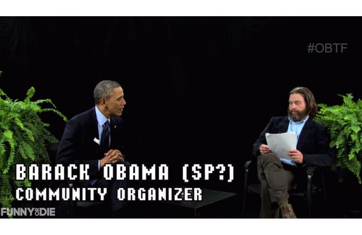 President Obama's Sickest Burns on 'Between Two Ferns' With Zach Galifianakis
