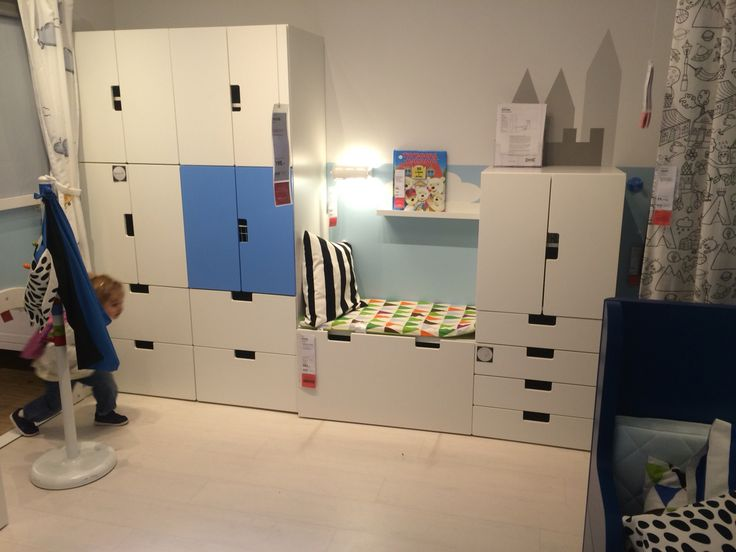 Storage Bench Stuva - Ikea - Asker - Norway | Henry's Big Boy Room