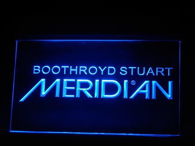 Boothroyd Stuart LED Light Sign www.shacksign.com