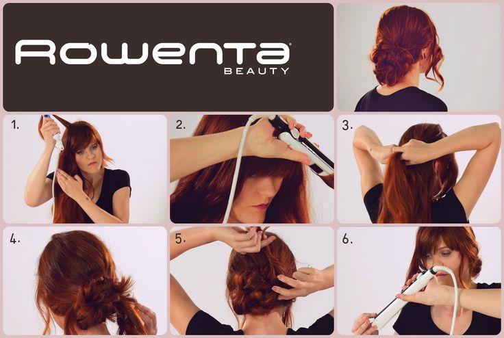 Supełkowy kok   Krok 1.  Unieś włosy od nasady przy pomocy VOLUM'24 Krok 2.  Zrób luźne fale używając prostownicy RESPECTISSIM 7/7 Krok 3. Zacznij zaplatać dobierane pętelki Krok 4. Kontynuuj, aż będziesz miała włosy tuż nad karkiem Krok 4. Zepnij włosy w luźny kok Krok 5. Jedno pasmo owiń wokół koka #Respectissim #Rowenta #RowentaPolska #fryzura #włosy #hair #hairstyle #hotd  #wlosomaniaczka #hairmania #hairgoals #haircolor #curls #waves #volum #wavy #straight #easy #tutorial #stepbystep