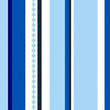 BLUE PINSTRIPE CURTAINS | BLIND CURTAIN MAKING