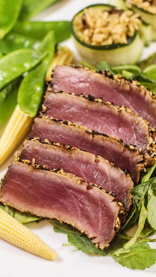 1000 ideas about grilled tuna steaks on pinterest tuna for Fish steak recipe