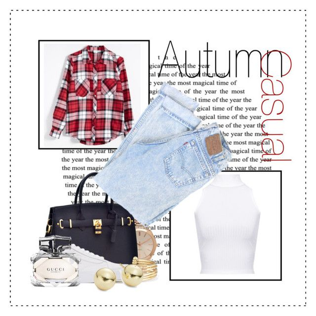 """autumn baddie #5"" by kiwijulin on Polyvore featuring WearAll, Aéropostale, Stella & Dot, Vans, Lord & Taylor and Gucci"