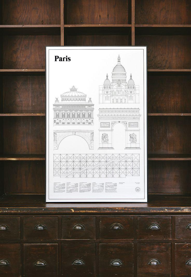 Paris Elevations | studio esinam