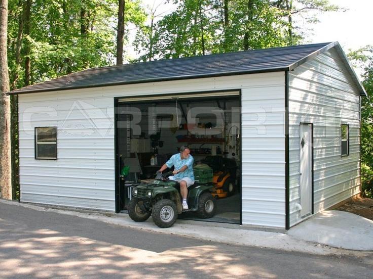 1000+ images about Metal Garages, Steel Garages, Metal ...