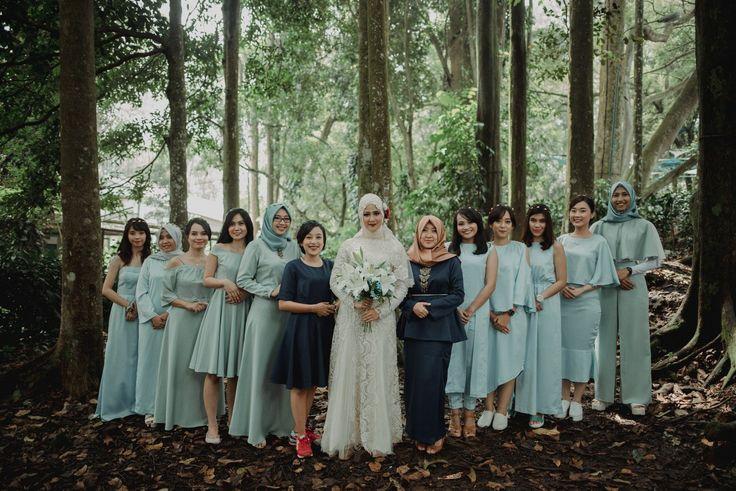 Pernikahan dengan Suasana Alam ala Wewa dan Ojel -