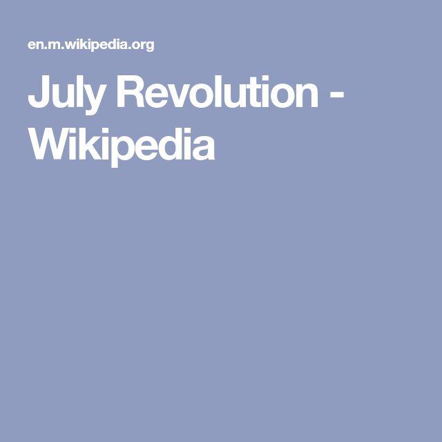 July Revolution - Wikipedia