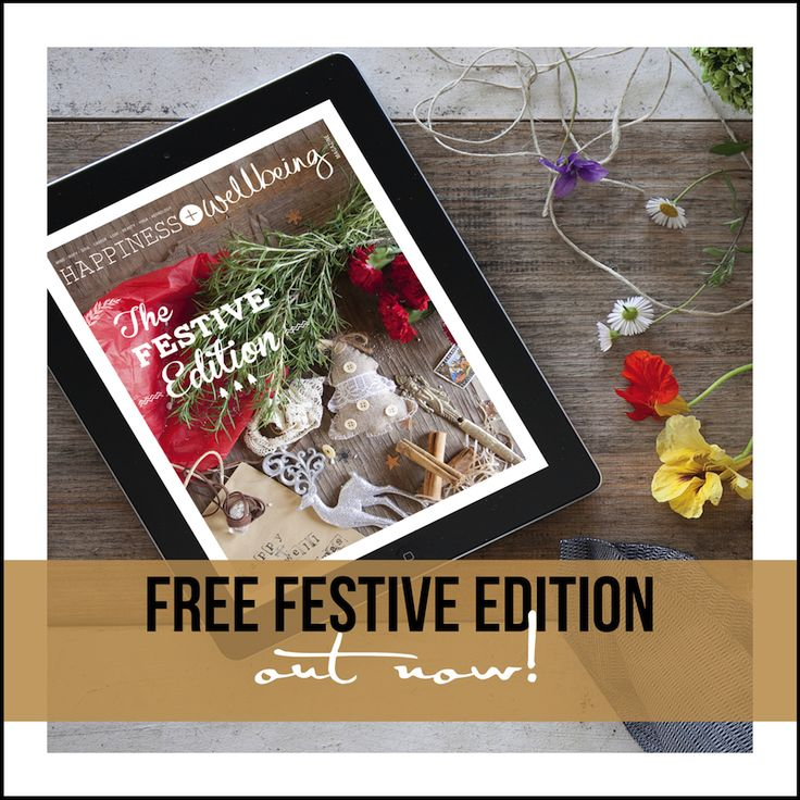 Your FREE Festive Season Edition is now live!! Enjoy over 100 + pages of festive bliss including bite-sized articles and our exclusive happy + well gift guide.  You can pick up your copy from the Apple App Store or via our website at www.happywellmag.com   A big thank you to all of our awesome contributors and creatives (including swoon-worthy photographer @sarahcraven_photographer for your ongoing support and brilliance.   Enjoy! x