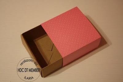 "Hobby di Carta - Il blog: PACKAGING: ""Una scatolina semplice"" by Ilaria"