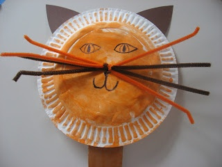 cat puppet- could also be adjusted for dogs, bunnies and many other