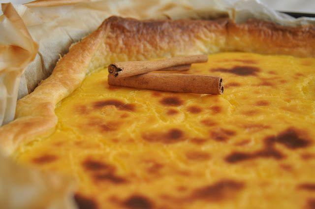 Pão e Beldroegas: Tarte Pastel de Nata