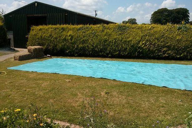 Make your own shallow pool. I used Google translate to read it. :) NapadyNavody.sk   Chlapci si vyrobili vlastný bazén a ušetrili niekoľko tisíc dolárov