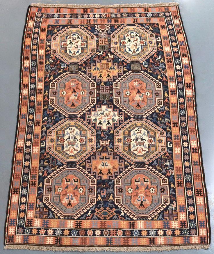 Ardabil Fine Persian Kilim (Ref 1851) 192x125cm - PersianRugs.com.au