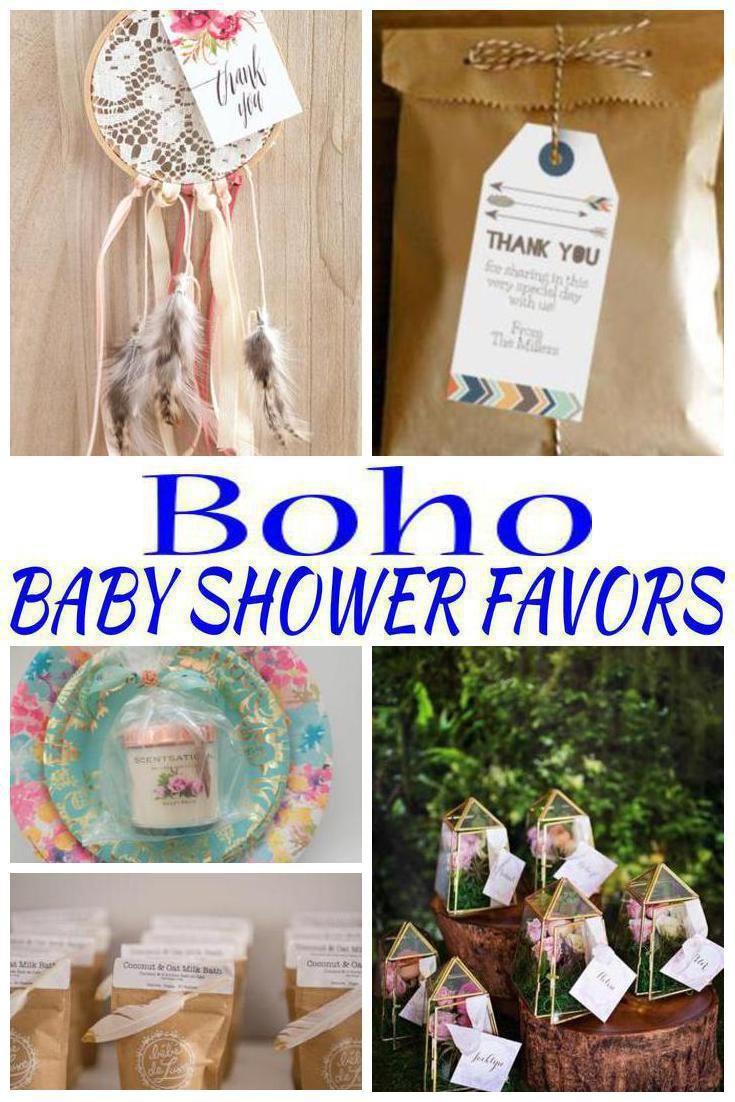Boho Baby Shower Favors Boho Baby Shower Girl Baby Shower Party