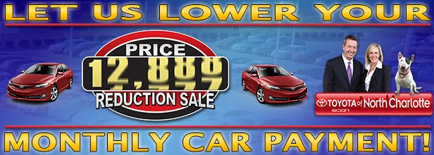 Are you on the hunt for an affordable used car in Charlotte? Check out our Toyota Sales Event, our Price Reduction Sale!