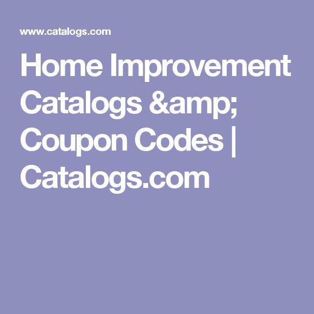 Home Improvement Catalogs & Coupon Codes | Catalogs.com