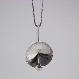 Silver pendant by Karl-Erik Palmberg