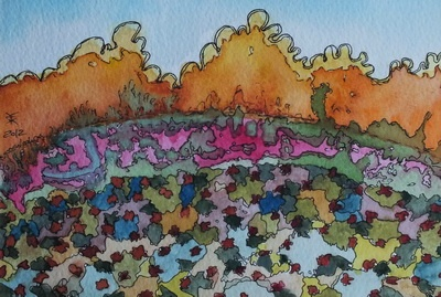 Artmoney 12x18 cm. By Kirsten K. Kester