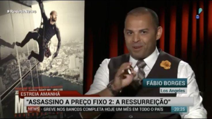 Fábio Borges entrevista Jason Satham e Jessica Alba
