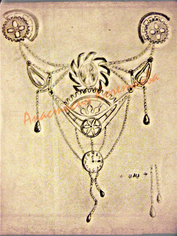 Эскизы в стиле Стимпанк | biser.info - всё о бисере и бисерном творчестве