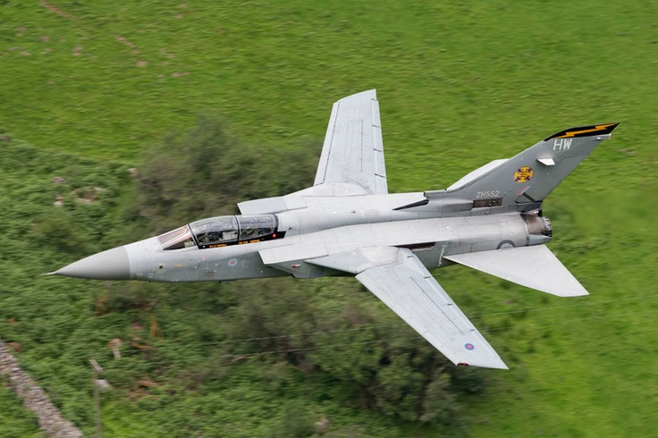 A Panavia Tornado F3 operated by QinetiQ and still in its 'Temblers' 111 Squadron markings makes history as the very last Tornado F3 to fly low level. This jet landed at Leeming to be RTP'd.  Photographer: Lloyd Horgan