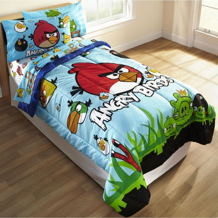 angry birds sheets Too Many Angry Birds Single bedding