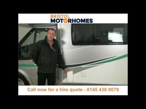 Motorhome hire and campervan rental Bristol - Call 0145 430 0079