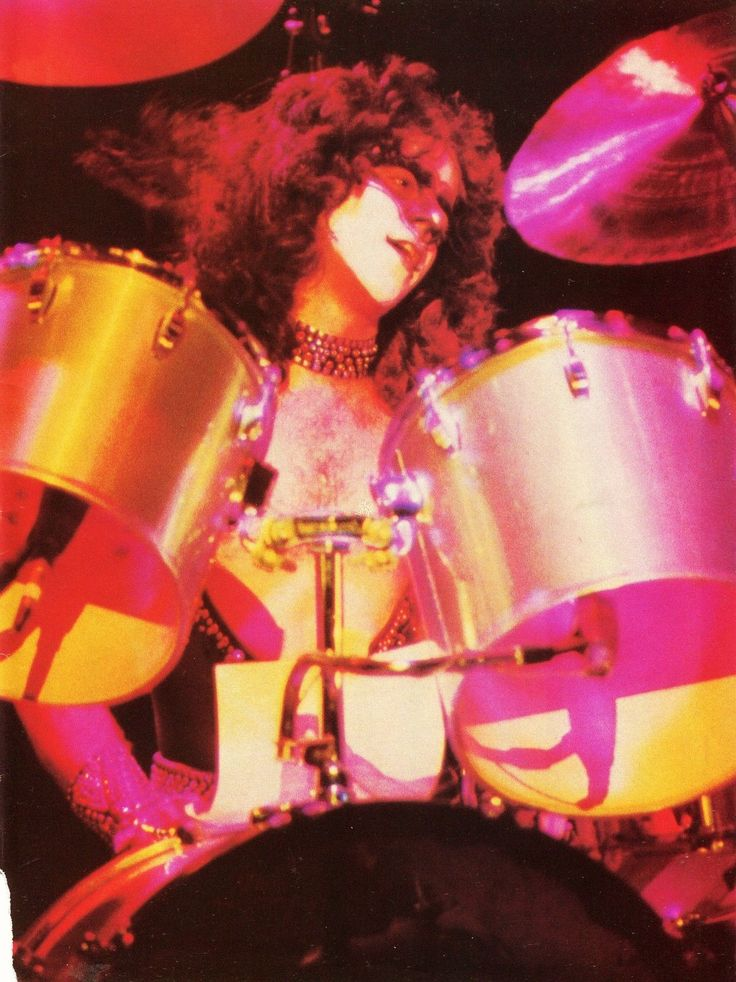nightcomesdown: Eric Carr, 1980. - For... - Anything For My Baby