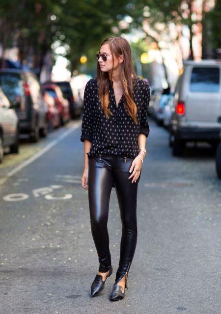 Sunday look: Φορέστε το δερμάτινο κολάν σας | Jenny.gr Galleries