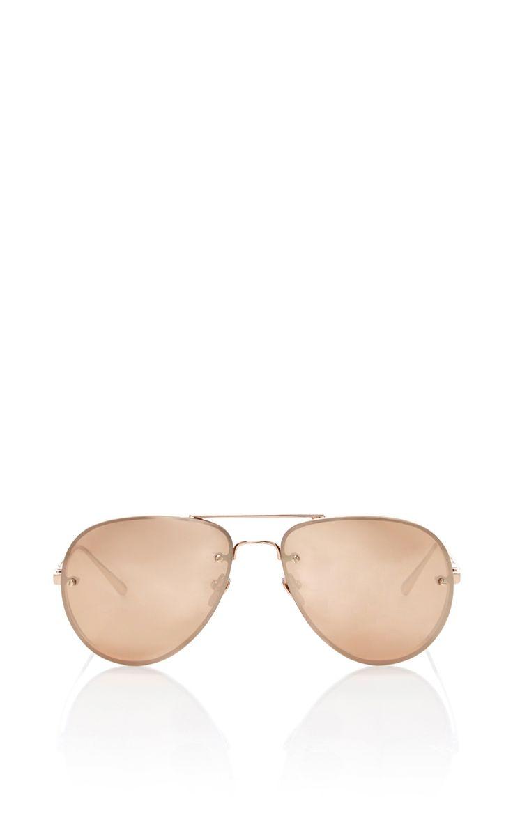LINDA FARROW Luxe Sunglasses. #lindafarrow #sunglasses