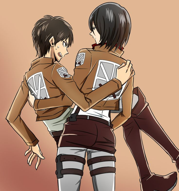 attack on titan manga mikasa and eren relationship