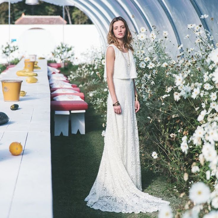 Robe de mariée sirène Constance Fournier