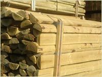 Wooden Fences - G.S & P.A Reeves of Wem Timber Merchants