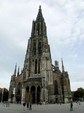 Ulm Minster (Ulmer Münster) – Ulm, Germany - Atlas Obscura