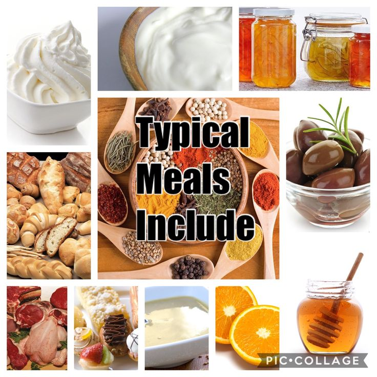 In Greece these are some of the ingredients they include in there typical Meals. For example breads, meats, spices, sour milk, cream, olives, honey, oranges, tahini, and more.