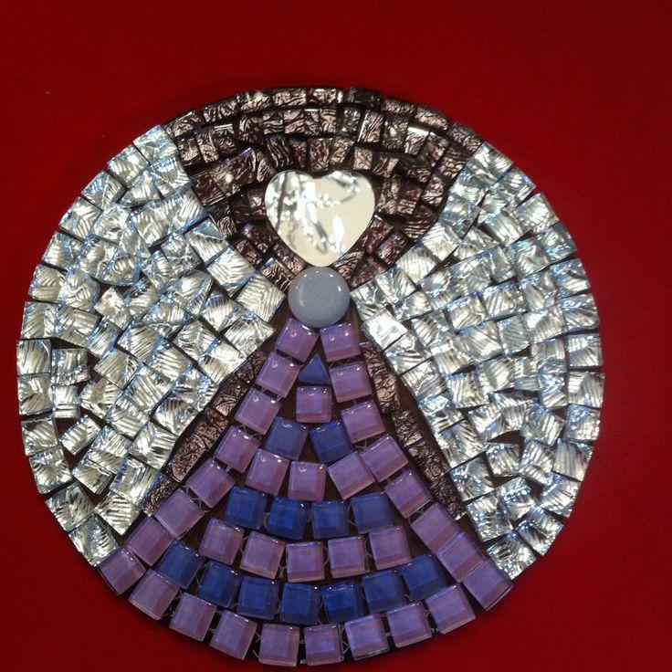 Wydgevlerk 4 (Inge) #angels #mosaics