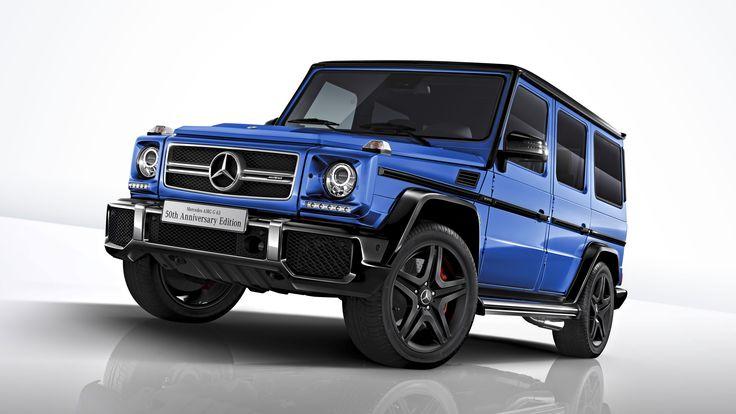 メルセデス・ベンツ日本は2017年5月10日、「メルセデス・ベンツGクラス」の特別仕様車「メルセデスAMG G63 50th Anniversary Edition(アニバーサリーエディション)」を発表し、50台の台数限定で発売した。価格は2220万円。