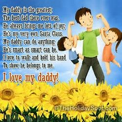 Image result for Father's Day Poems Short