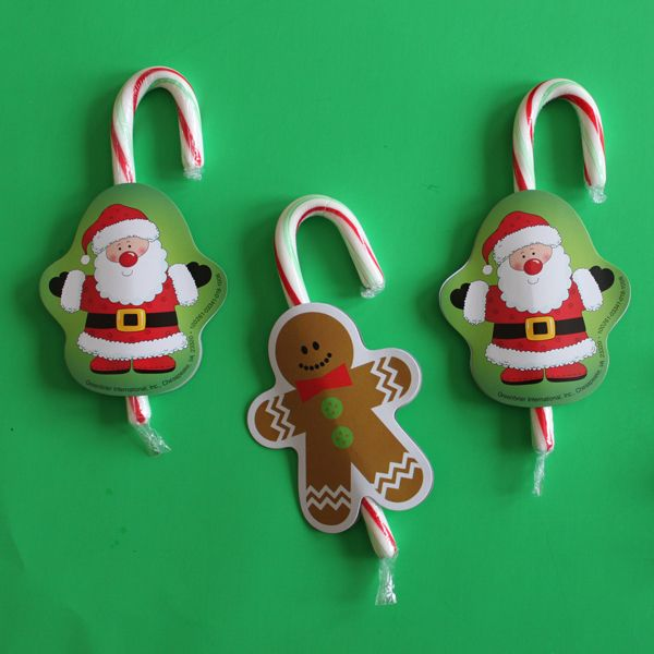 Dollar Store Crafts » Blog Archive » Dress Up a Candy Cane — plus bonus!
