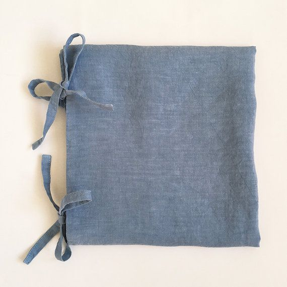 Deco / Luxury Garment dyed Linen pillowcase with by vydravolkmer