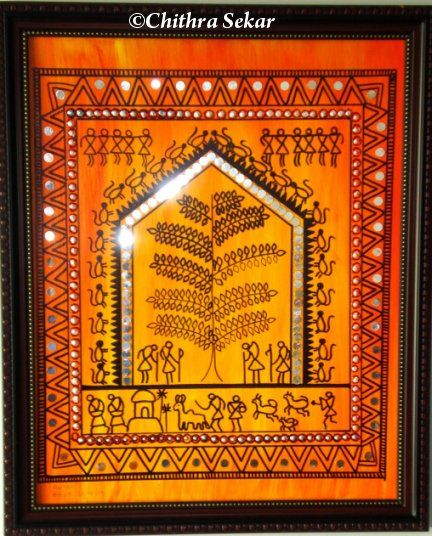 Indian warli painting