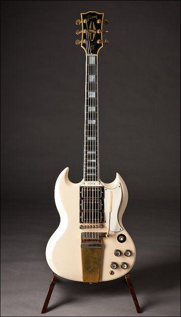 Gibson SG Custom 1965 White   Reverb