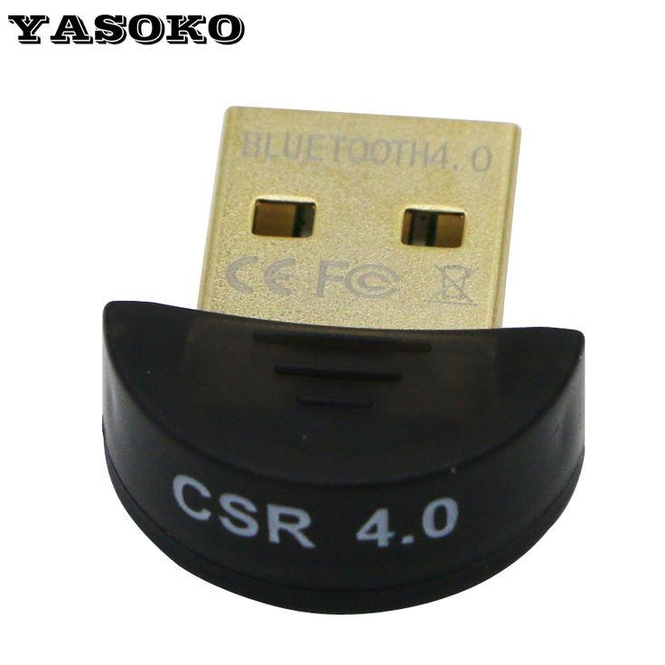 Venta caliente de Alta Calidad Mini USB Bluetooth V4.0 Dongle Adaptador Dual modo Inalámbrico Dongle RSE 4.0 Para PC Portátil Win Xp Win7/8 teléfono