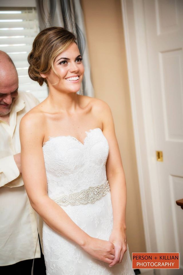 Boston Wedding Photography Beautiful Brides Black And White Smiling Bride Getting Ready