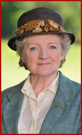 When I grow up, I want to be Miss Marple. Or maybe her creator, Agatha Christie