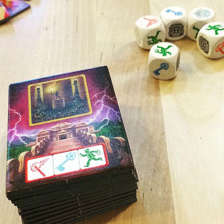 Ucieczka: Świątynia Zagłady / Escape: The Curse of the Temple #boardgame