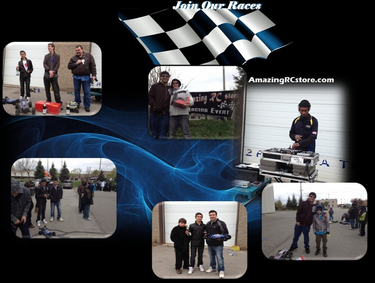Get a Redcat at AmazingRCstore.com and become a member of our Racing Club. Amazing RC store will organize 6 sponsored - Customer Appreciation Races this 2012. Dont Get Left Behind! Join The Fun!