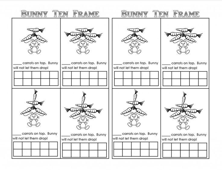 31 Best Images About Bunny Fun Preschool And Kindergarten