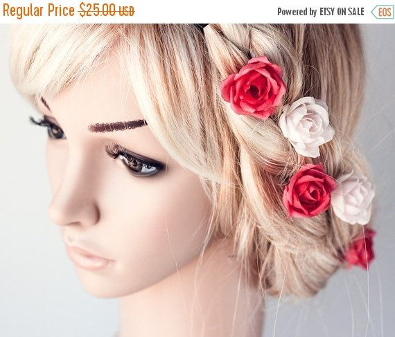 Hey, I found this really awesome Etsy listing at https://www.etsy.com/listing/202287958/hair-rose-roses-rose-hair-pins-hair